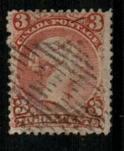 Canada Scott 33 Used (Catalog Value $2250.00)
