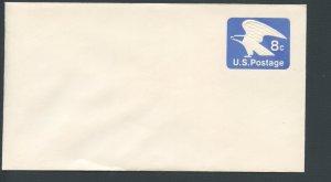 US Scott's# U557 8 Cent-Eagle-Envelope-Unused