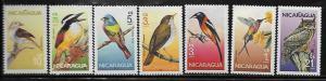 Nicaragua 1500-06 Birds Mint NH
