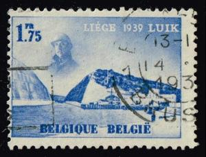 Belgium #321 Eygenbilsen Cut in Albert Canal; Used (0.25)