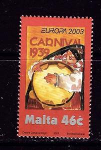 Malta 1124 NH 2003 Europa issue