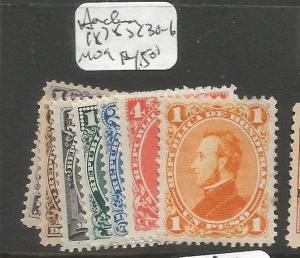 Honduras 1878 SC 30-6 MOG (9cpa)