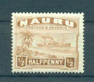 Nauru sc# 17 mh cat value $2.75