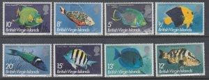 British Virgin Islands 284a-294a Fish MNH VF