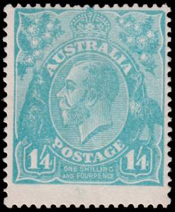 Australia Scott 37 (1920) Mint VLH F-VF, CV $140.00 M
