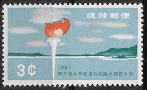 Ryukyu Islands - SC# 72 - MNH - SCV $5.00