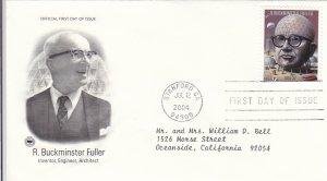 2004, Honoring R. Buckminster Fuller, PCS, FDC (E9222)