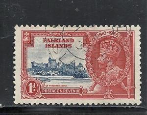 Falkland Islands #77 used cv $.50