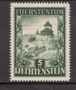 Liechtenstein #264 Very Fine + Never Hinged
