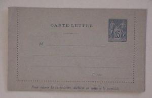 FRANCE   LETTER CARD MINT #5 CAT.$58.00