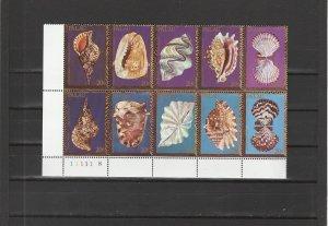 Palau  Scott#  50a  MNH Block of 10  (1984 Shells)