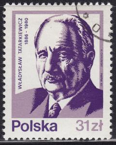 Poland 2567 USED 1983 Wladyslaw Tatarkiewicz