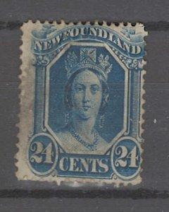 COLLECTION LOT # 3212 NEWFOUNDLAND #31 1865 CV=$35