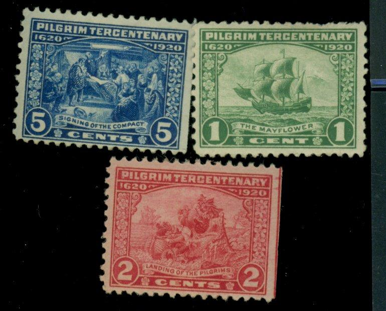 548-50 MINT F-VF OG HR Cat$44.25