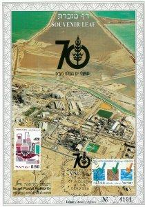 ISRAEL 1995 70th ANNIVERSARY DEAD SEA WORKS CATALOG S/LEAF # 191