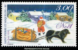 Saint Pierre & Miquelon Scott 687 Mint never hinged.