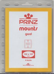 PRINZ BLACK MOUNTS 152X107 (8) RETAIL PRICE $10.50