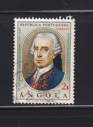 Angola 546 Set U Francisco Inocêncio de Sousa, Politician (C