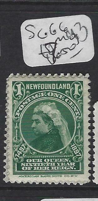 NEWFOUNDLAND (PP2002B)  1C QV  CABOT  SG  66   MOG