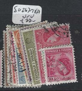 TRINIDAD AND TOBAGO  (PP2005B)  QEII  SET   SG 267-278A   VFU