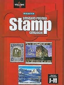 Scott Stamps Catalogue. 2011. Vol 4 (J-M Countries). Color. 1290 pages