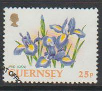 Guernsey SG 576 Used Perf 13   with First Day cancel