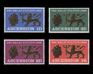 ASCENSION ISLAND 1967. SCOTT # 111 - 114. UNUSED SET.