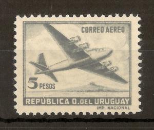 Uruguay 1957 5p Air SG969 MNH