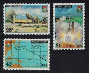 Kiribati Satellite Tracking 3v SG#109-111