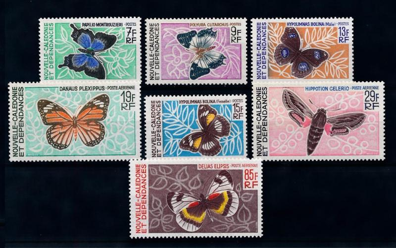 [70367] New Caledonia 1967 Insects Butterflies  MNH