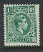 Jamaica  SG 121  - Mint very light trace of hinge -  see scan and details