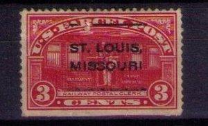 US Sc #Q3 Parcel Post Precancel Stamp Used F-VF