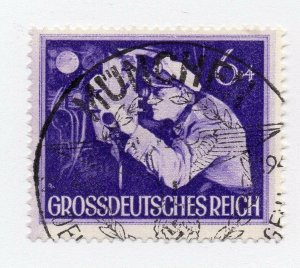 Germany 1943 Early Issue Fine Used 6pf. NW-100710