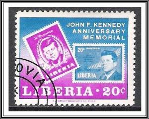 Liberia #448 Kennedy Memorial CTOH