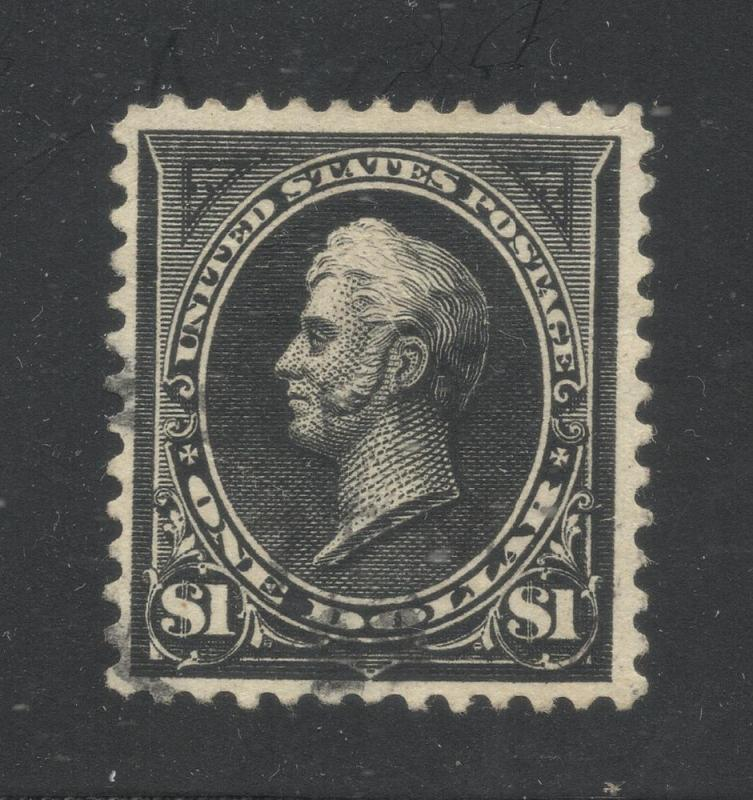 US#276A Black - Type II - Used - Very Fine