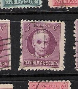 CUBA 267 VFU DE LA LUZ L494-4