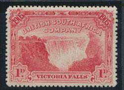 British South Africa Company / Rhodesia  SG 94 MH perf 14  see scans