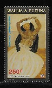 Wallis and Futuna Islands C205 Dancer MNH