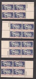 UNITED STATES SC# 1131  MATCHED SET PL#26336  FVF/MNH 1959