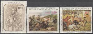 Venezuela #899-901  MNH CV $3.40  (K278)