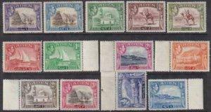 Aden 1939-1948 SC 16-27a LH Set