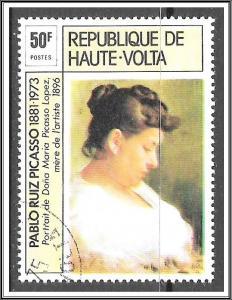 Upper Volta #372 Picasso Paintings CTO