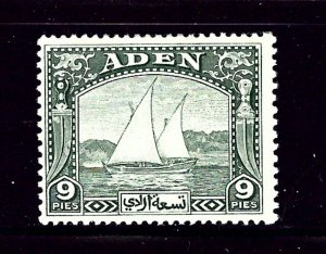 Aden 2 MLH 1937 Dhow   (P76)