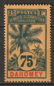 Dahomey 1906 Sc 28 MH*