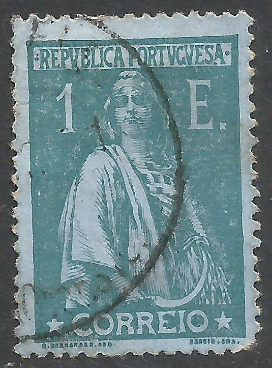 PORTUGAL CERES 223 USED THIN Z879