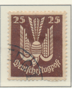 Germany Stamp Scott #C3, Used Heavily Hinged - Free U.S. Shipping, Free World...