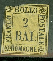 M: Italy Romagna 3 used small faults CV $210