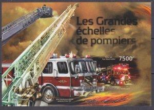 2012 Burundi 2902/B304b History of fire trucks 12,00 €