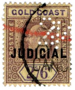 (I.B) Gold Coast Revenue : Judicial 2/6d