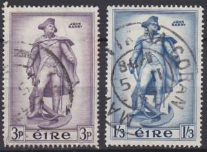 Ireland 155-156 used (1956)